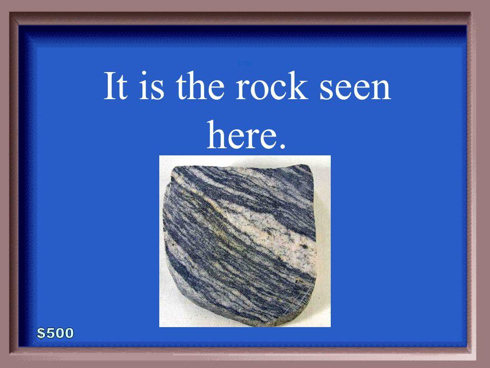 5-400A 1 - 100 What is quartzite?