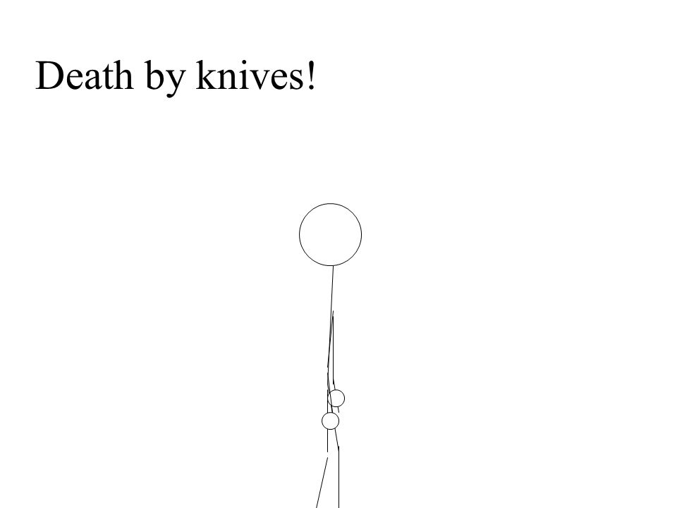 Death by knives!