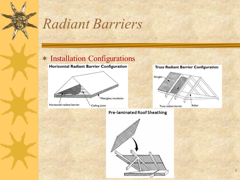 45 Radiant Barriers  Parametric Analyses: Latitude