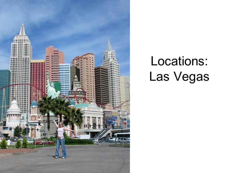 Locations: Las Vegas