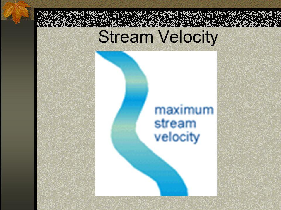 Stream Velocity