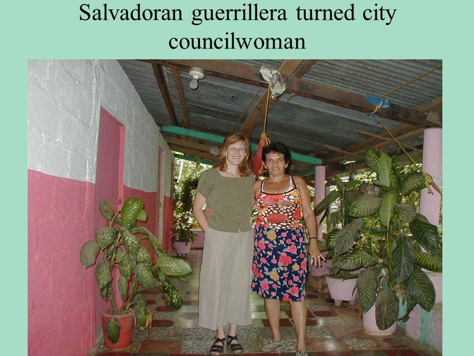 Research in El Salvador