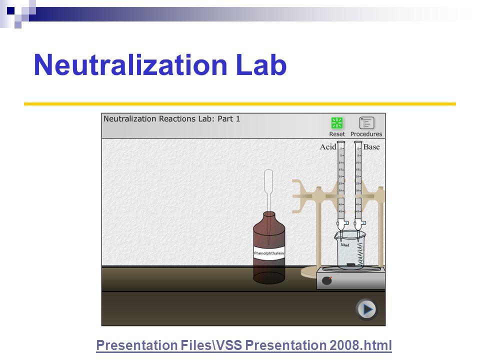 Neutralization Lab Presentation Files\VSS Presentation 2008.html