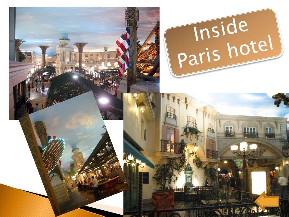 Inside Paris hotel Inside Paris hotel