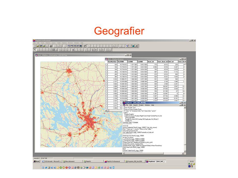 Geografier