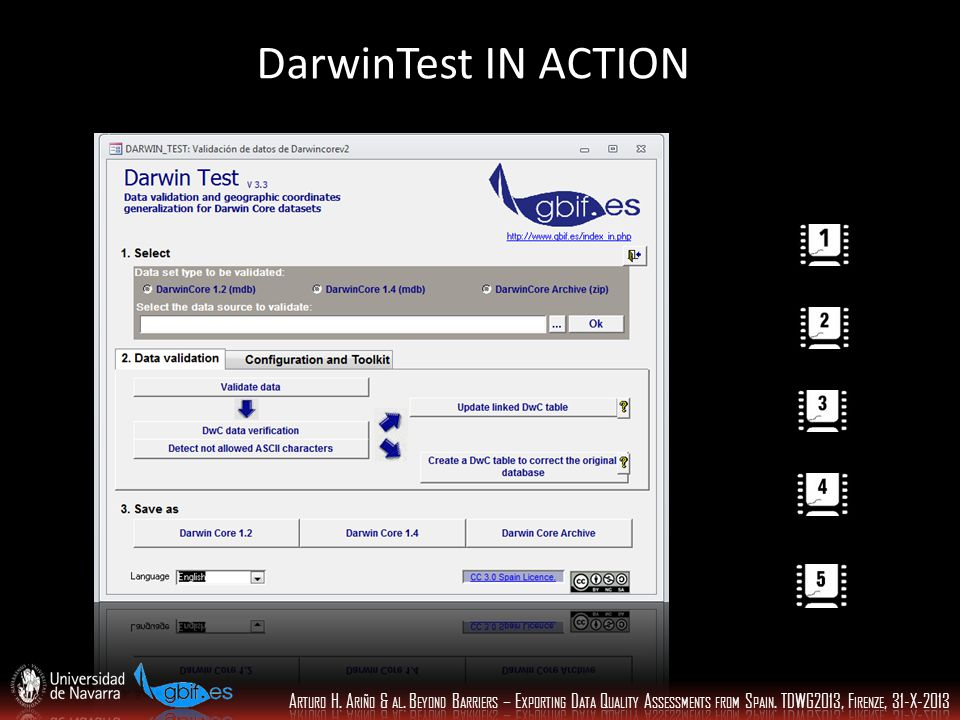 DarwinTest IN ACTION