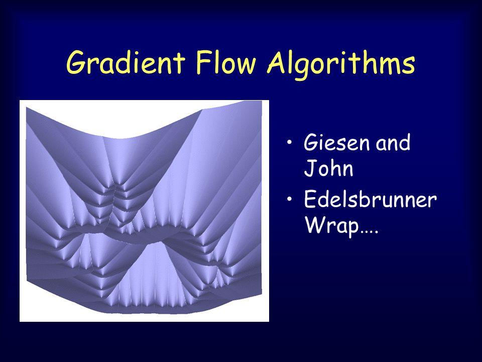 Gradient Flow Algorithms Giesen and John Edelsbrunner Wrap….