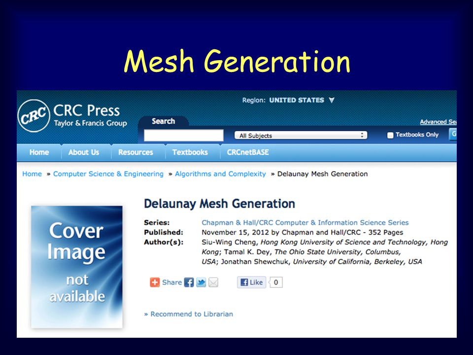 Mesh Generation