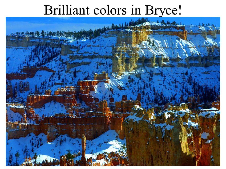 Brilliant colors in Bryce!