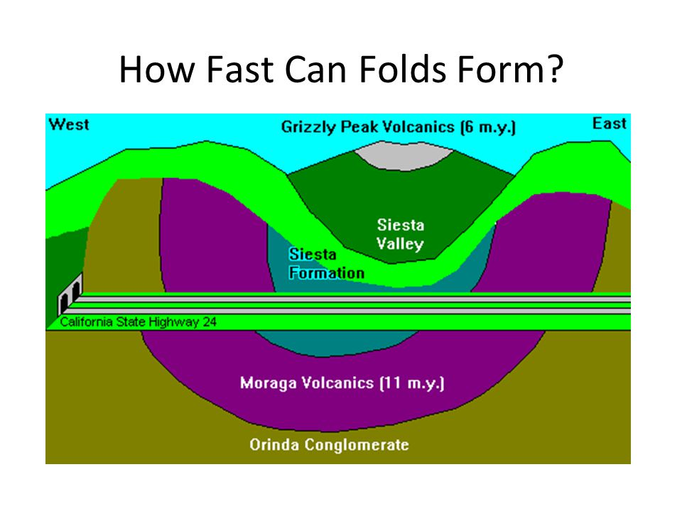 How Fast Can Folds Form