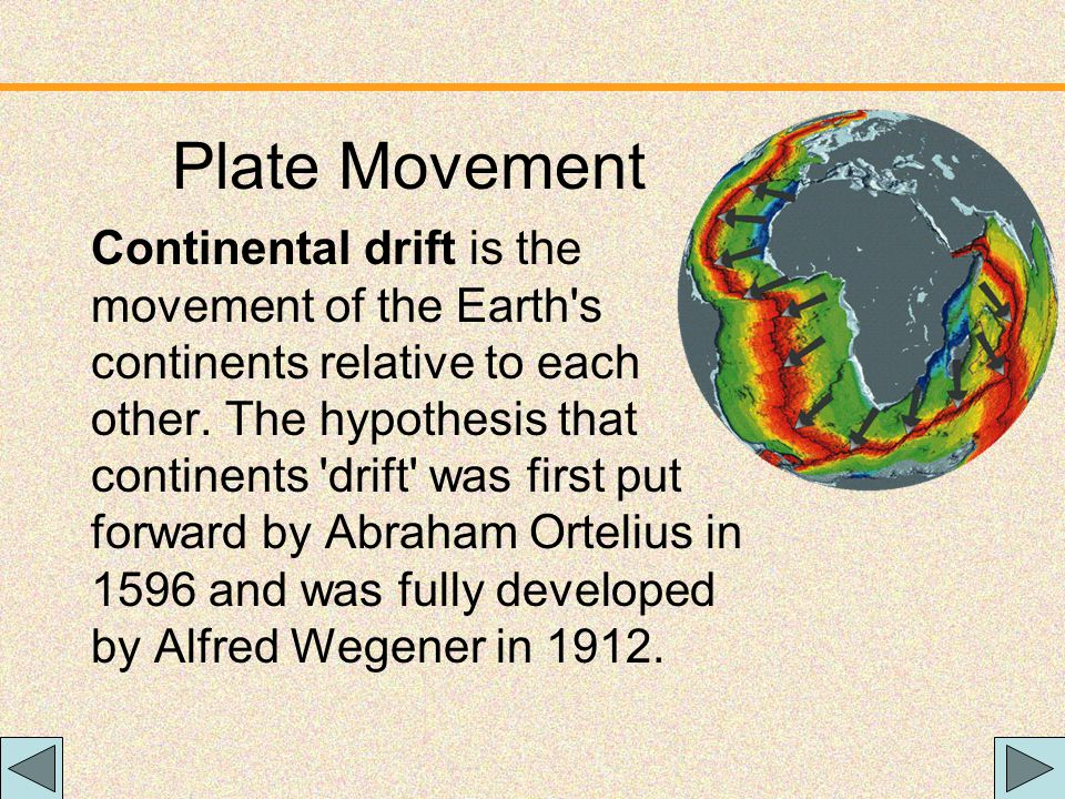 Plate Movement Plate Movement only need the first :35 sec.