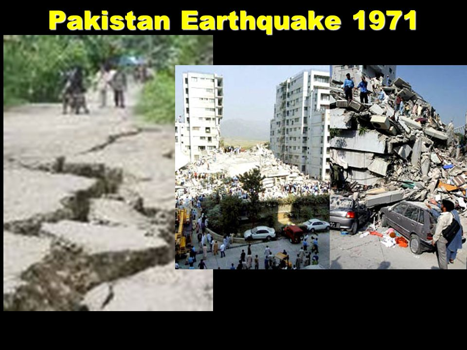 Pakistan Earthquake 1971