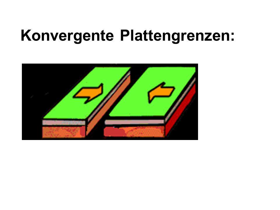 Konvergente Plattengrenzen: