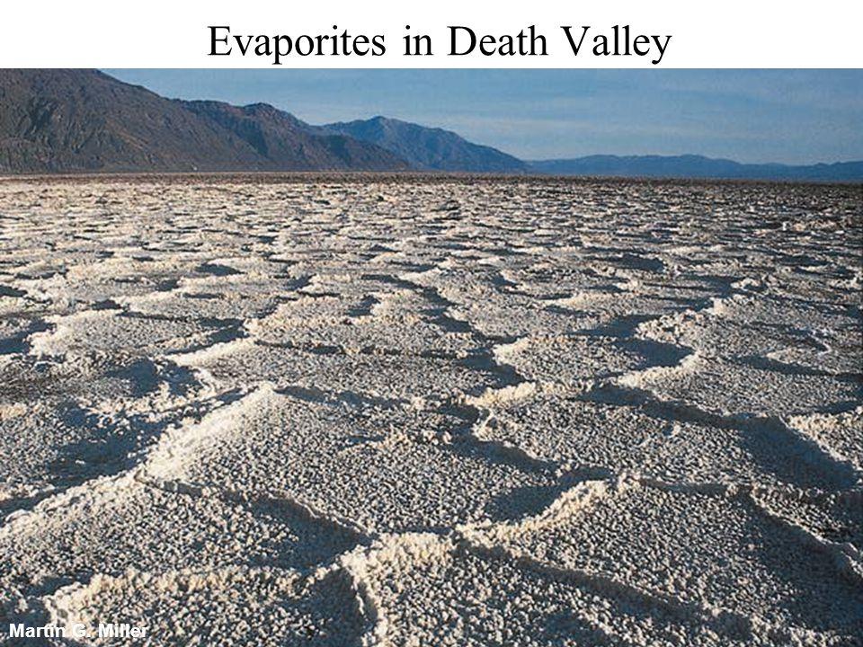 Martin G. Miller Evaporites in Death Valley