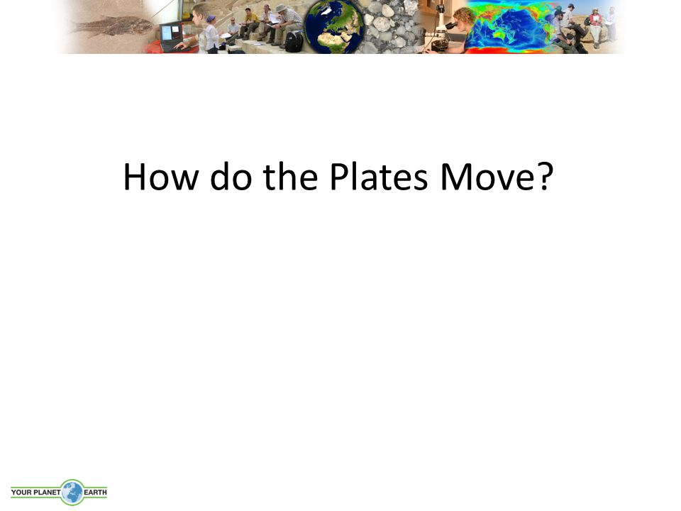 How do the Plates Move?