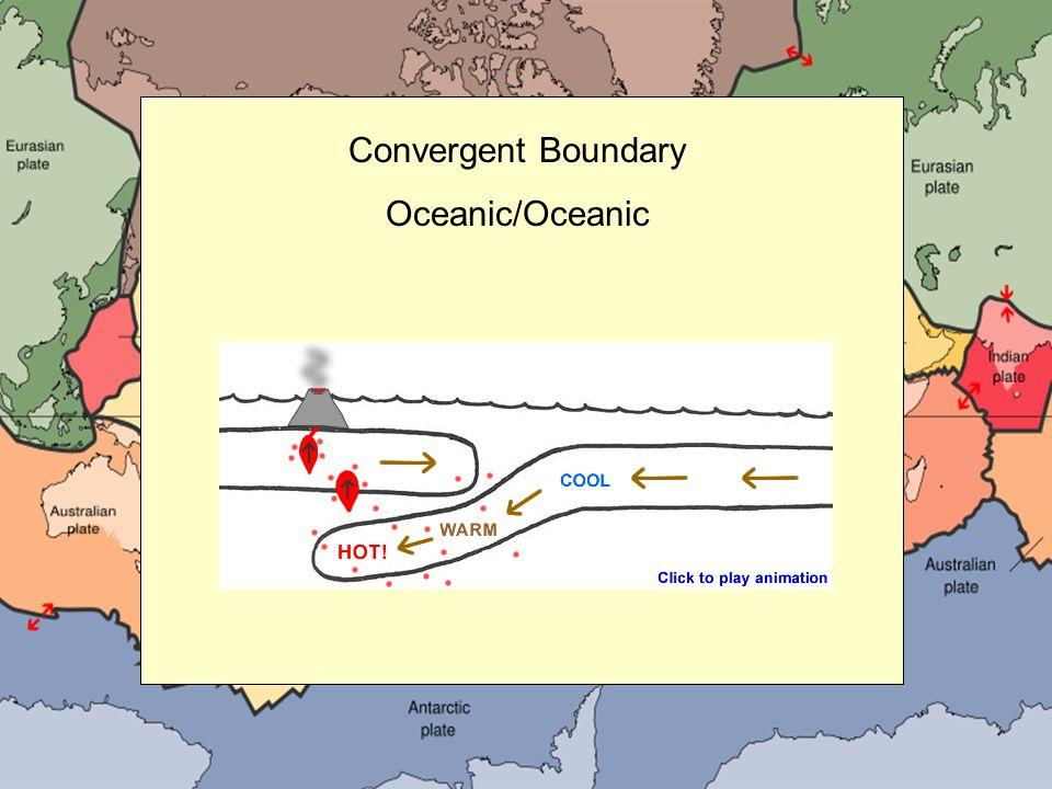 Convergent Boundary Oceanic/Oceanic