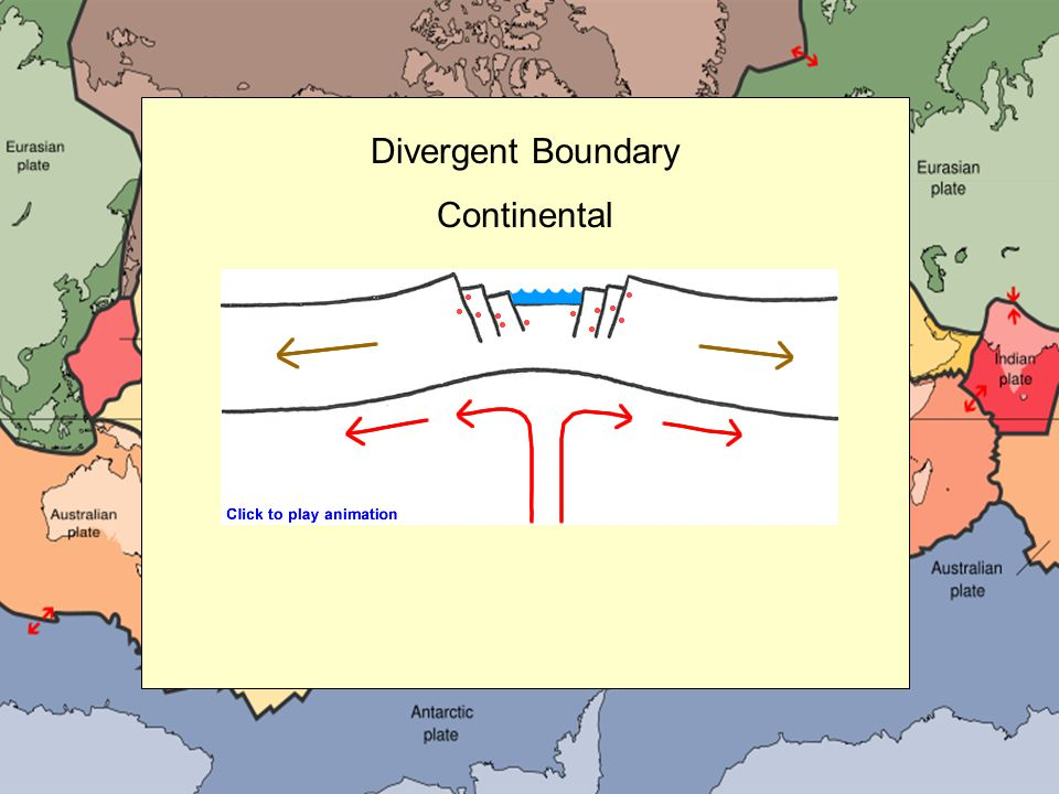 Divergent Boundary Continental