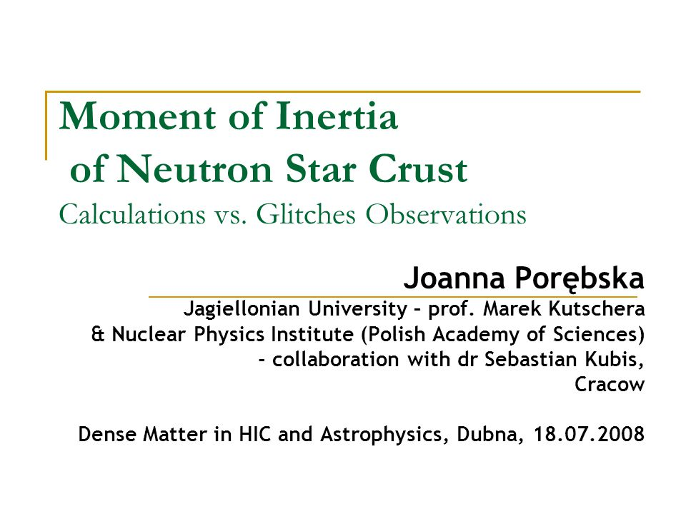 Moment of Inertia of Neutron Star Crust Calculations vs.