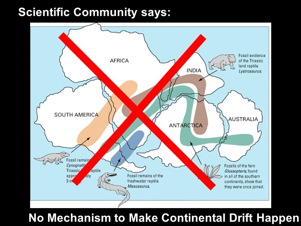 No Mechanism to Make Continental Drift Happen