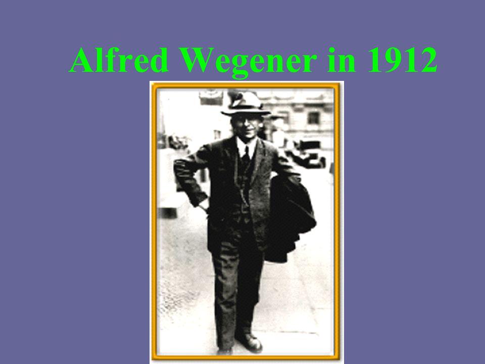 Alfred Wegener in 1912