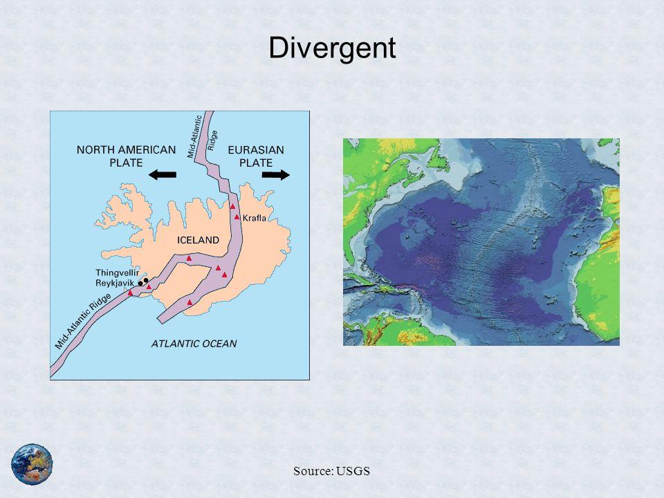 Divergent Source: USGS