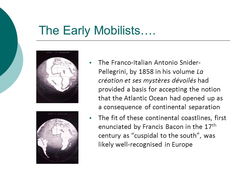 The Early Mobilists….