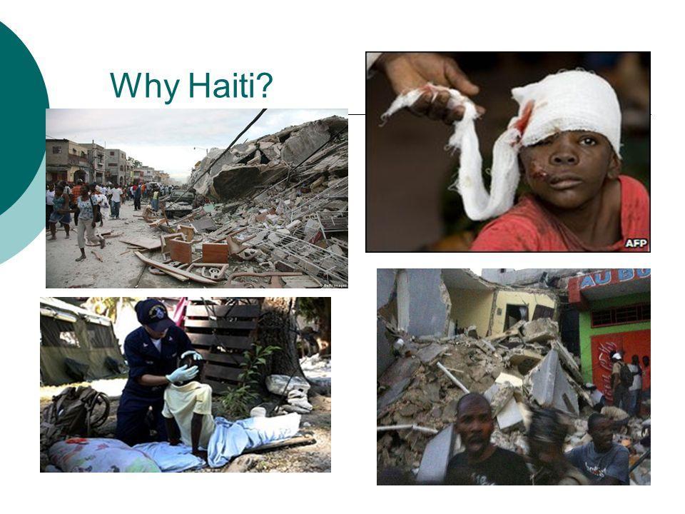 Why Haiti?