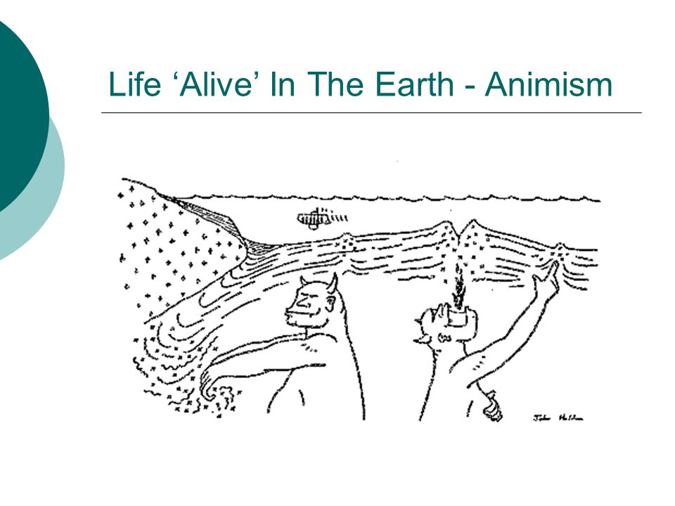 Life 'Alive' In The Earth - Animism