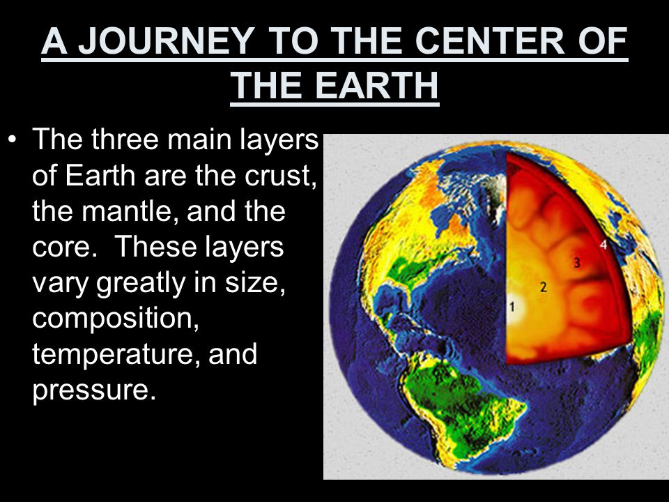 Temperature… About 20 meters below Earth's surface, rock begins to get warmer.