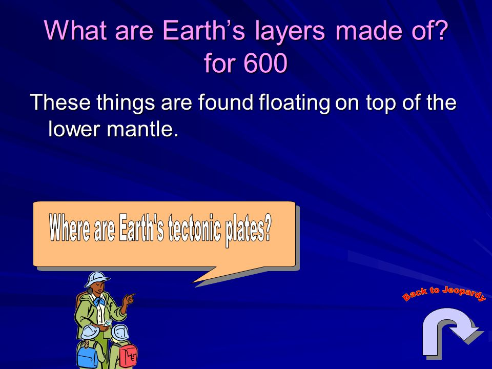 What are Earth's layers made of.
