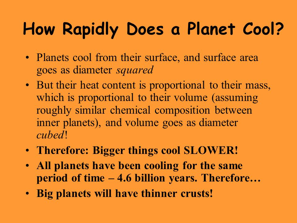 How Rapidly Does a Planet Cool.