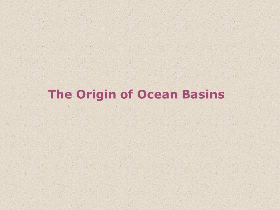 The Origin of Ocean Basins
