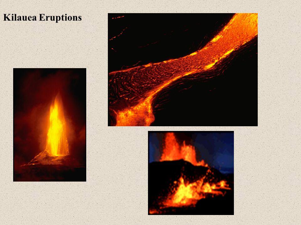 Kilauea Eruptions