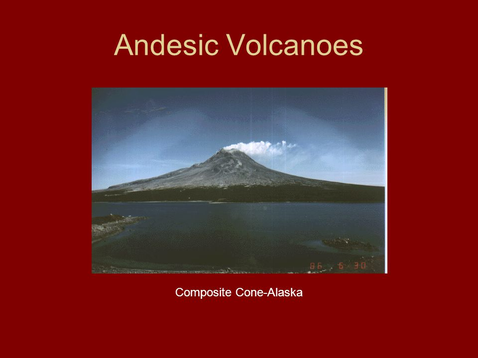 Andesic Volcanoes Composite Cone-Alaska
