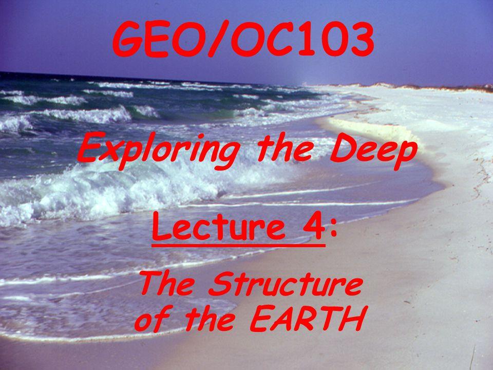 Mid-Ocean Ridge Deep-sea Trench Topography of the Ocean Floor