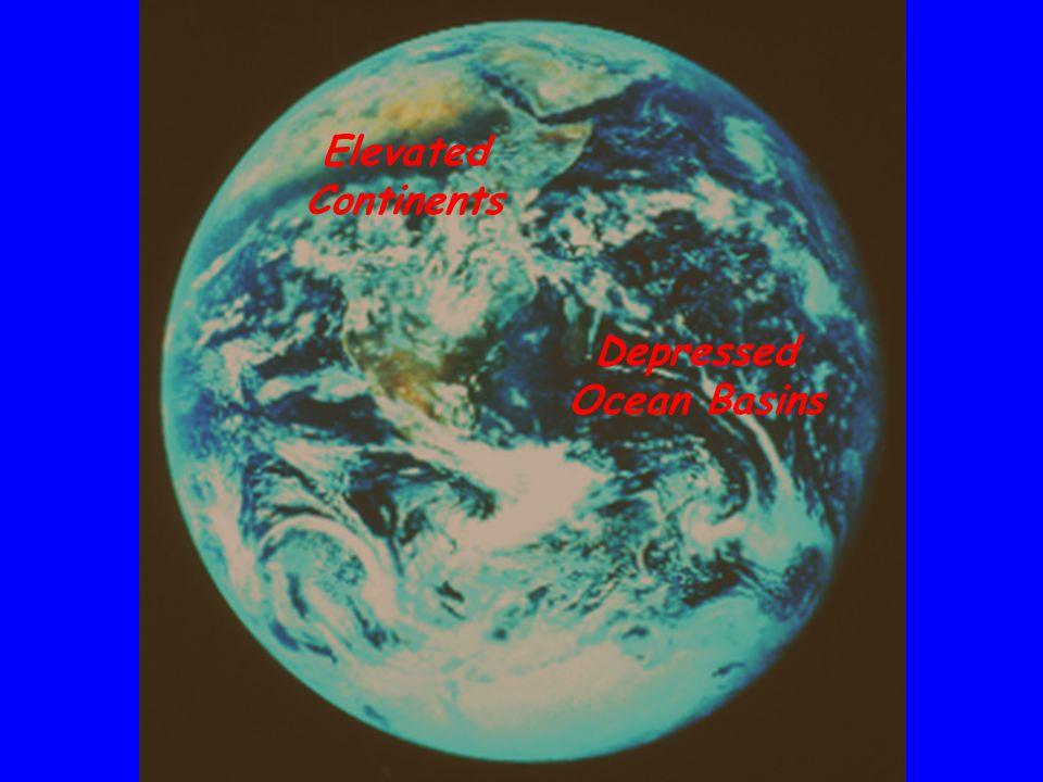 Depressed Ocean Basins