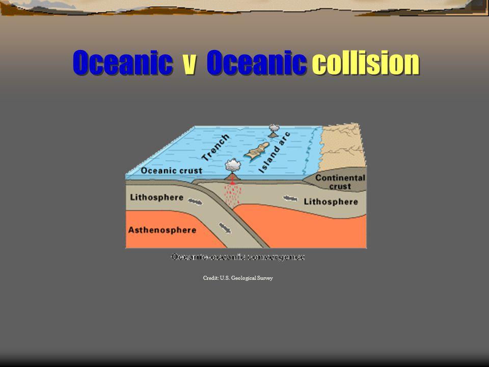 Oceanic v Oceanic collision Credit: U.S. Geological Survey