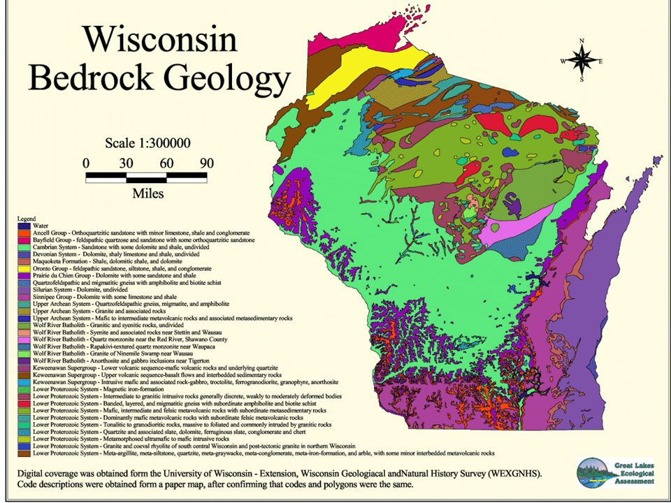 Tectonics in Wisconsin Presentation originally created by Dr.