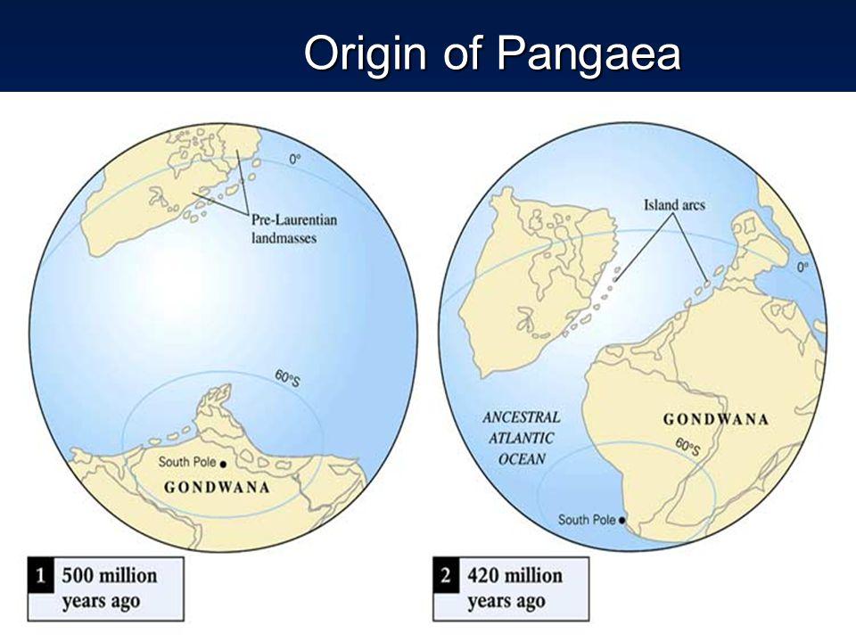 Origin of Pangaea