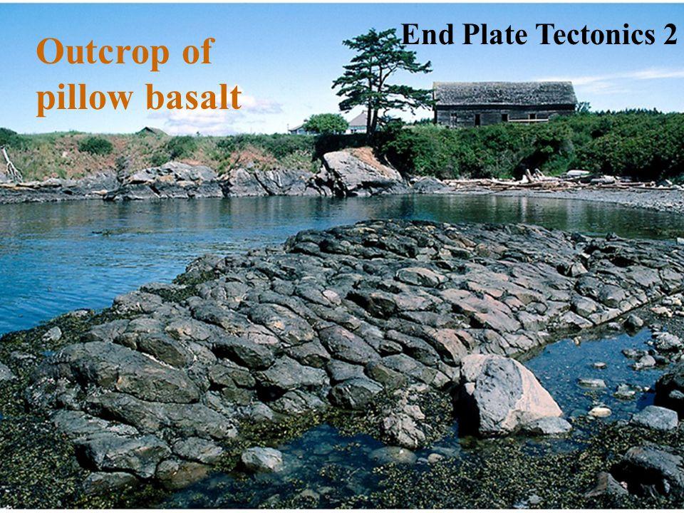 Outcrop of pillow basalt End Plate Tectonics 2