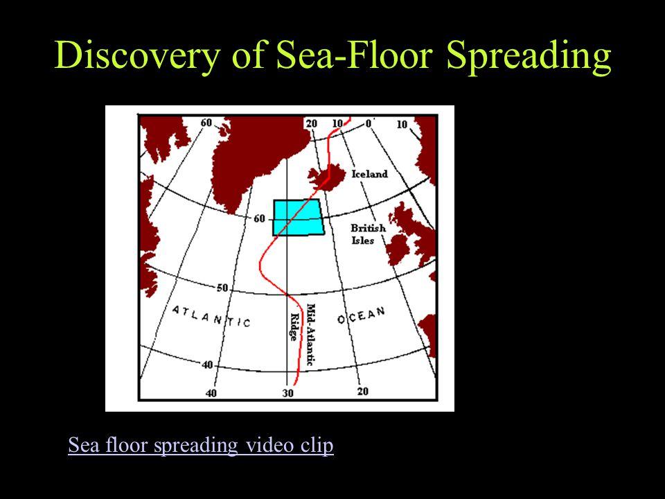 Discovery of Sea-Floor Spreading Sea floor spreading video clip