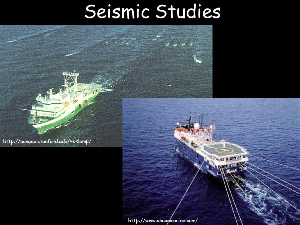 Seismic Studies http://pangea.stanford.edu/~sklemp/ http://www.oceanmarine.com/