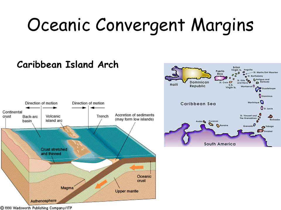 Oceanic Convergent Margins Caribbean Island Arch