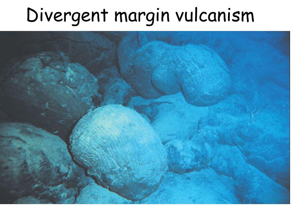 Divergent margin vulcanism