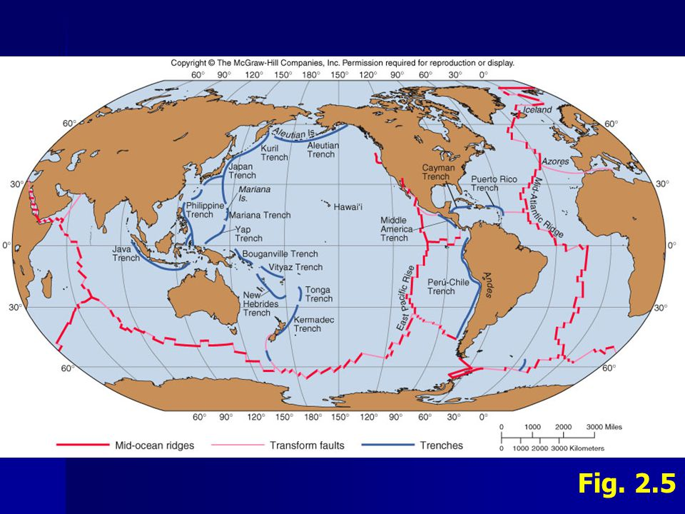 I.Geology C.Plate Tectonics - Evidence 1. Ring of Fire Geological activity (e.g.