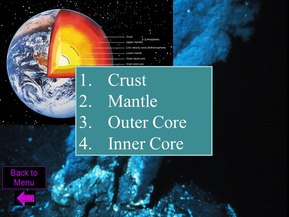 Ocean crust is made of _______, while the Continental crust is made of _______.