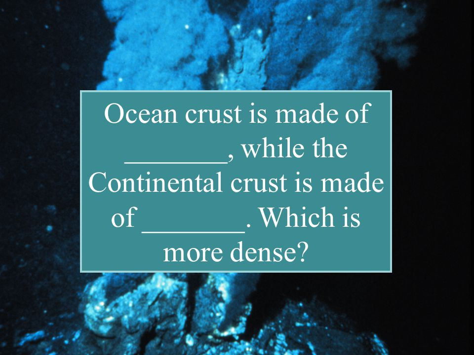 Back to Menu Trenches Subduction The crust is destroyed at deep- sea Trenches in a process known as Subduction.