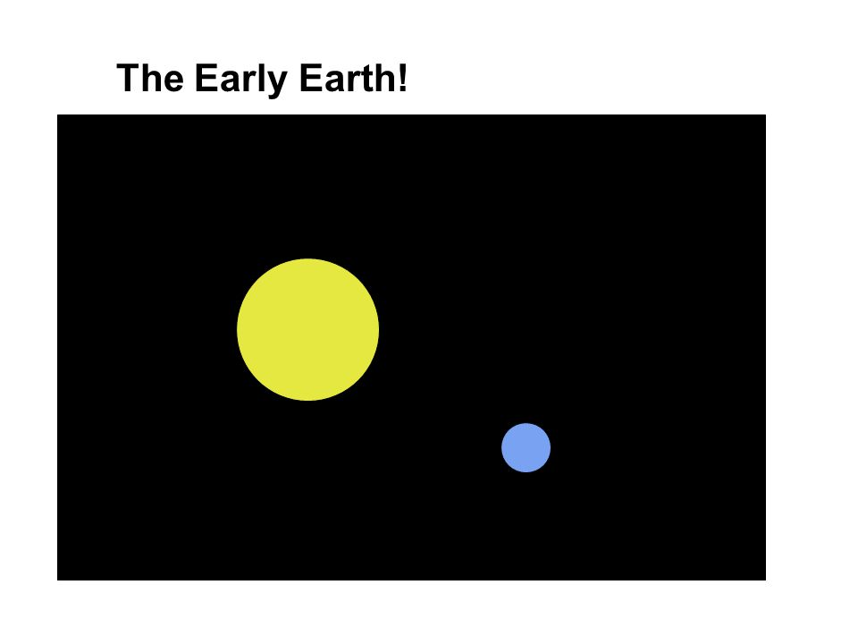 The Early Earth!