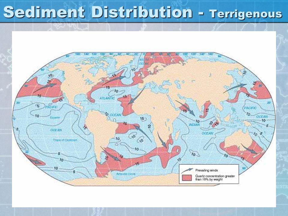 Sediment Distribution - Terrigenous