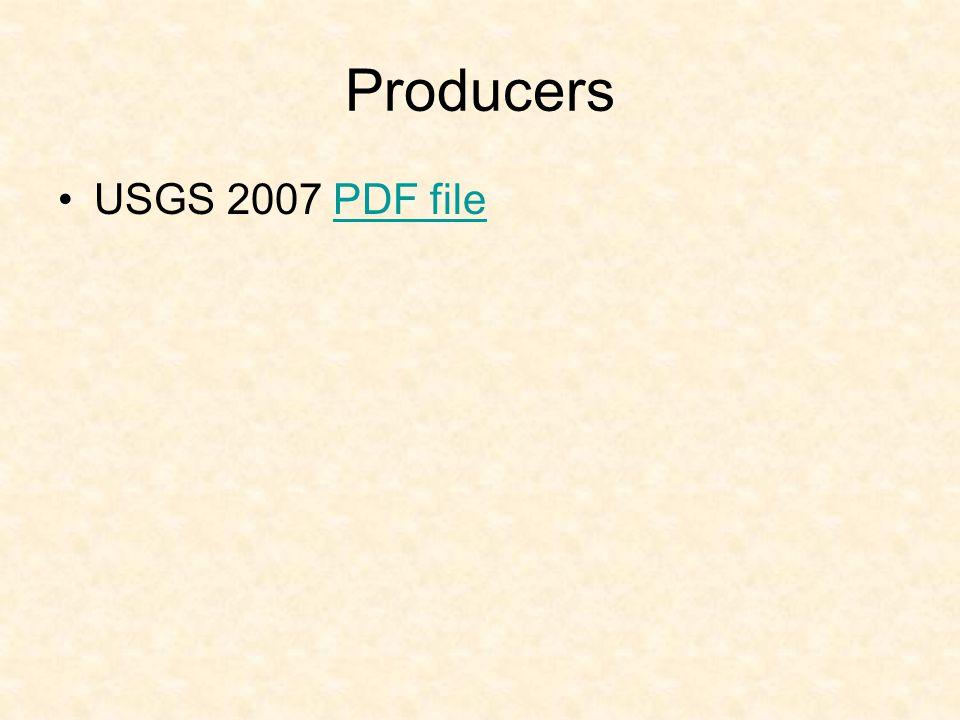 Producers USGS 2007 PDF filePDF file